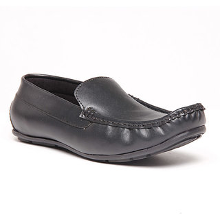 Foster Blue Black Men's Loafer Stylish Shoes - Option 1