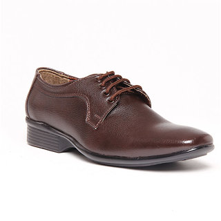 Foster Blue Brown Men's Formal Stylish Shoes - Option 4