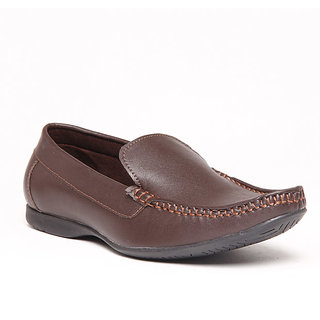 Foster Blue Brown Men's Loafer Shoes - Option 1