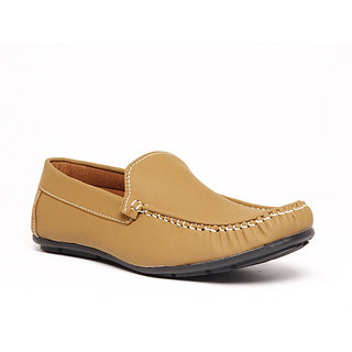 Foster Blue Brown Men's Loafer Shoes - Option 9