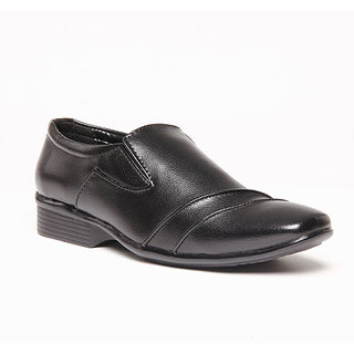 Foster Blue Black Men's Formal Shoes - Option 25