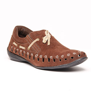 Foster Blue Brown Men's Loafer Shoes