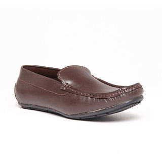 Foster Blue Brown Men's Loafer Shoes - Option 2