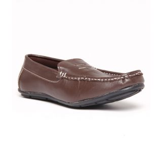 Foster Blue Brown Men's Loafer Shoes - Option 3