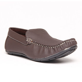 Foster Blue Brown Men's Loafer Shoes - Option 4