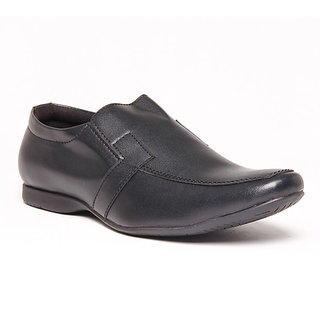Foster Blue Black Men's Formal Shoes - Option 1