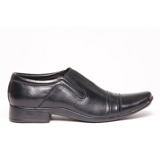 Foster Blue Black Men's Formal Shoes - Option 3
