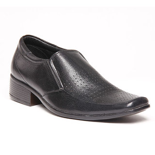 Foster Blue Black Men's Formal Shoes - Option 10