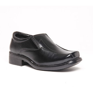 Foster Blue Black Men's Formal Shoes - Option 11