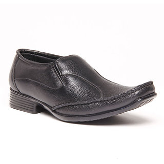 Foster Blue Black Men's Formal Shoes - Option 12