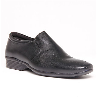 Foster Blue Black Men's Formal Shoes - Option 16