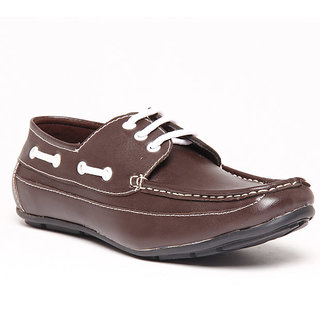 Foster Blue Brown Men's Casual Shoes - Option 23