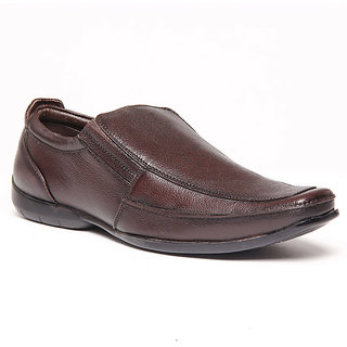 Foster Blue Brown Men's Formal Stylish Shoes - Option 3