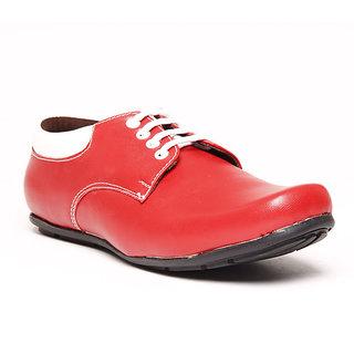 Foster Blue Red Men's Casual Stylish Shoes