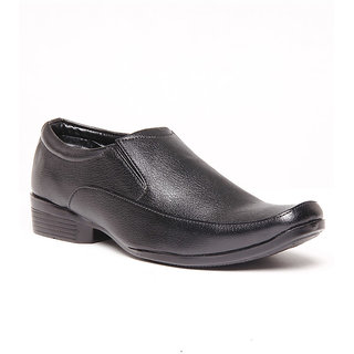 Foster Blue Black Men's Formal Shoes - Option 17