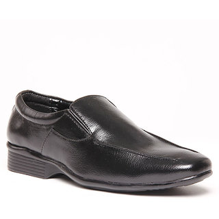 Foster Blue Black Men's Formal Shoes - Option 18