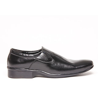 Foster Blue Black Men's Formal Shoes - Option 19