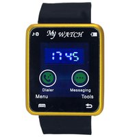 Gypsy Club GC73 Time Blue Led Ultra Smooth Touch Sreen Digital Watch - For Men, Boys, Women, Girls