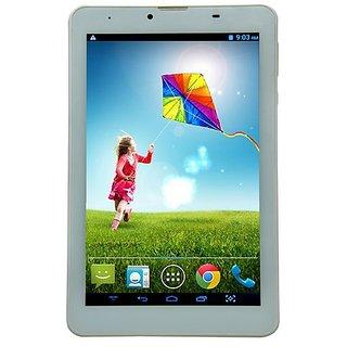 Ambrane A3-7 Plus 3G White Calling Tablet