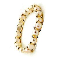 Pure White Pearl Bracelet, White Pearl Bracelet