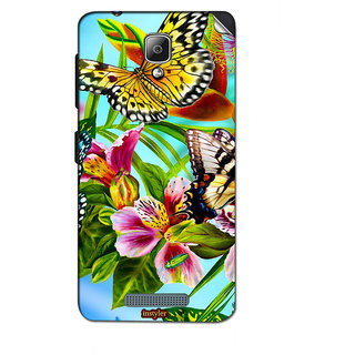 Instyler Mobile Skin Sticker For Lenovo A1000 MSLENOVOA1000DS-10047