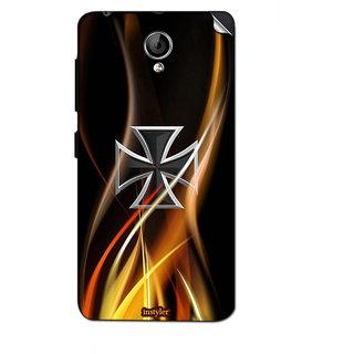 Instyler Mobile Skin Sticker For Lenovo A319 MSLENOVOA319DS-10155