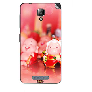 Instyler Mobile Skin Sticker For Lenovo A1000 MSLENOVOA1000DS-10064