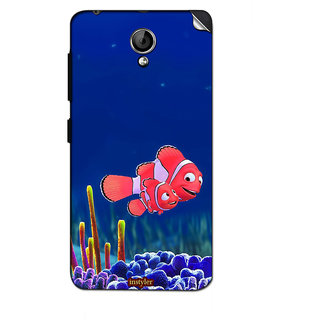 Instyler Mobile Skin Sticker For Lenovo A319 MSLENOVOA319DS-10052