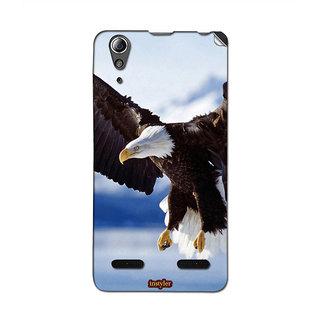 Instyler Mobile Skin Sticker For Lenovo A6000 MSLENOVOA6000DS-10013