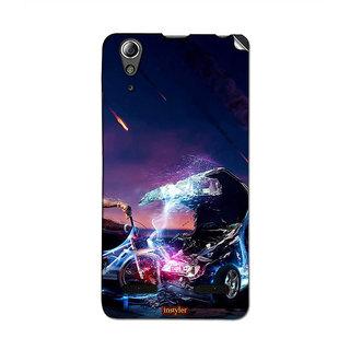 Instyler Mobile Skin Sticker For Lenovo A6000 MSLENOVOA6000DS-10032