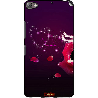 Instyler Mobile Skin Sticker For Lenovo S60 MSLENOVOS60DS-10114