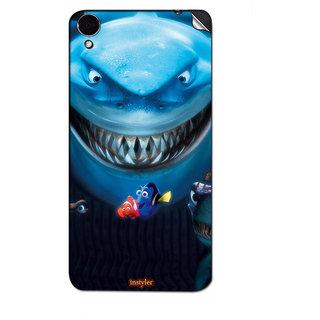 Instyler Mobile Skin Sticker For Lenovo S850 MSLENOVOS850DS-10054