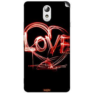 Instyler Mobile Skin Sticker For Lenovo Vibe P1M MSLENOVOVIBEP1MDS-10121
