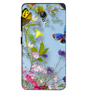 Instyler Mobile Skin Sticker For Lenovo S860 MSLENOVOS860DS-10041