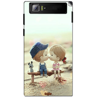 Instyler Mobile Skin Sticker For Lenovo K920 MSLENOVOK920DS-10074