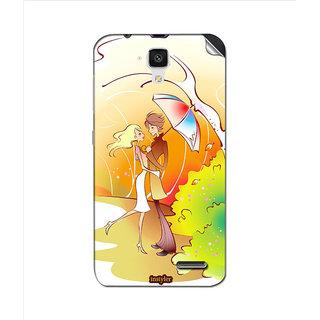 Instyler Mobile Skin Sticker For Lenovo A536 MSLENOVOA536DS-10060