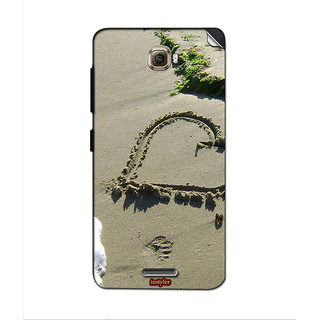 Instyler Mobile Skin Sticker For Lenovo S856 MSLENOVOS856DS-10105