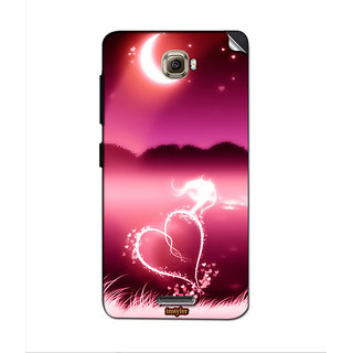 Instyler Mobile Skin Sticker For Lenovo S856 MSLENOVOS856DS-10107