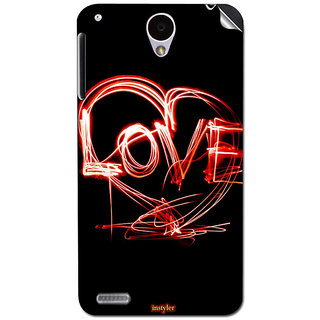Instyler Mobile Skin Sticker For Lenovo S890 MSLENOVOS890DS-10121