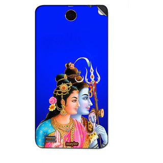 Instyler Mobile Skin Sticker For Lenovo A590 MSLENOVOA590DS-10095