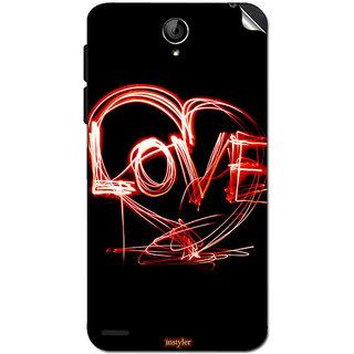 Instyler Mobile Skin Sticker For Lenovo S650 MSLENOVOS650DS-10121