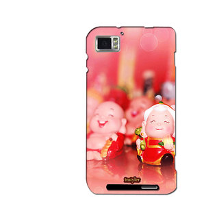 Instyler Mobile Skin Sticker For Lenovo K8601 MSLENOVOK860IDS-10064