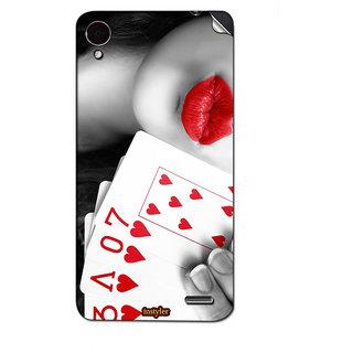 Instyler Mobile Skin Sticker For Lenovo S7201 MSLENOVOS7201DS-10106
