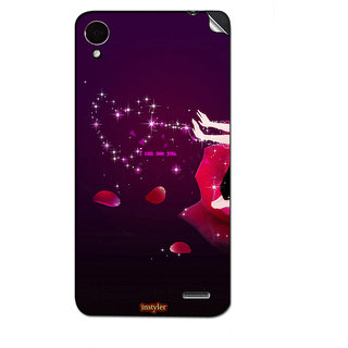 Instyler Mobile Skin Sticker For Lenovo S7201 MSLENOVOS7201DS-10114