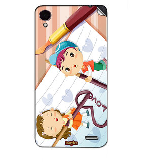 Instyler Mobile Skin Sticker For Lenovo S7201 MSLENOVOS7201DS-10129