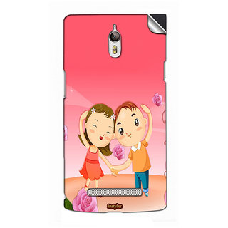 Instyler Mobile Skin Sticker For Oppo X9077(Find7) MSOPPOX9077(FIND7)DS-10056