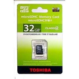 TOSHIBA 32 GB Micro SD Class 4 Memory Card For Mobile/Tablet