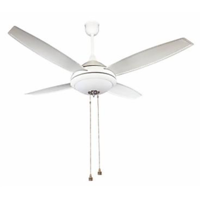 Crompton Greaves Luster Eros 4 Blades 1300mm Ceiling Fan (Pearl Silver White)