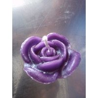 ROSE FLOWER WAX CANDLE PACK OF 10