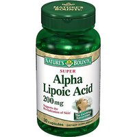 NatureS Bounty Super Alpha Lipoic Acid 200 Mg